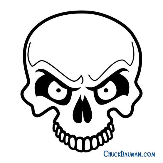 Skulls Airbrushing - FREE Skull Airbrushing Stencils - FREE