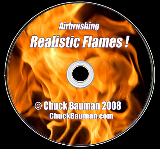 Flames Airbrushing DVD