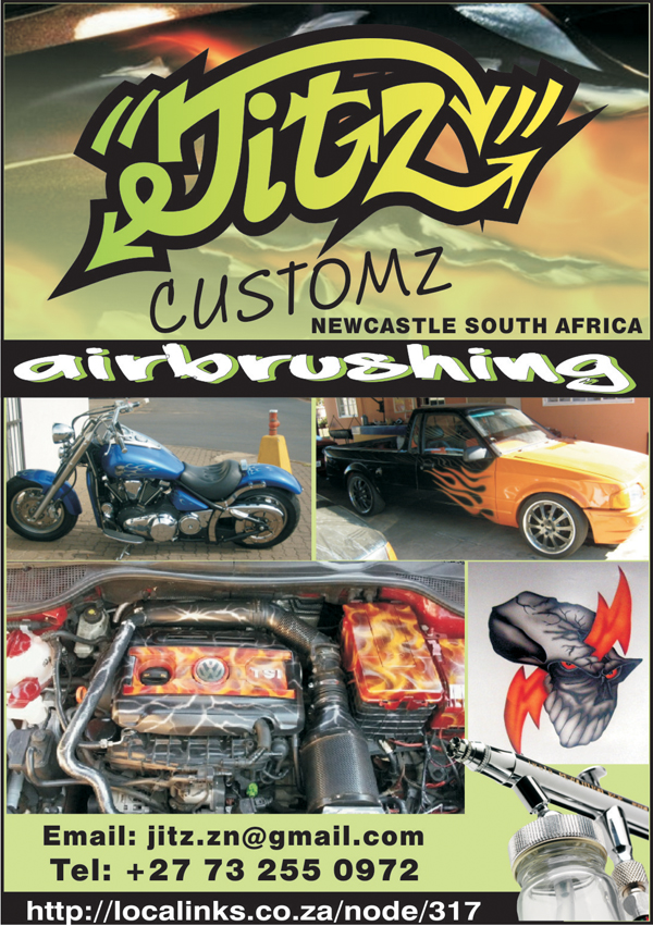 Jitz Customz in South Africa
