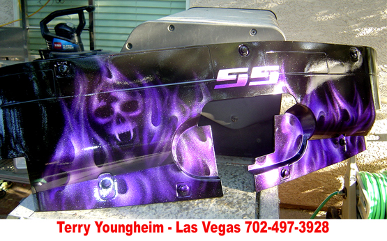 SS-Purple Flames by Terry Yougheim
