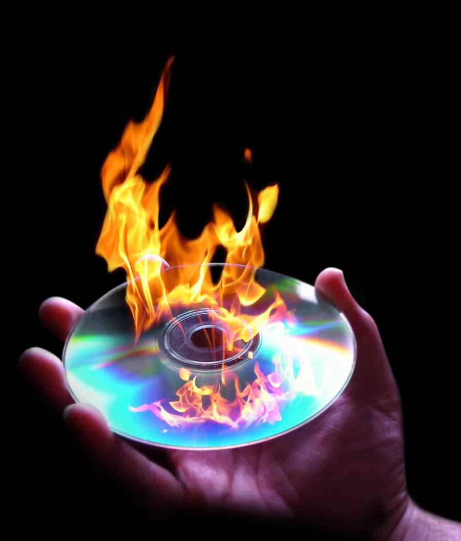 Flames-DVD