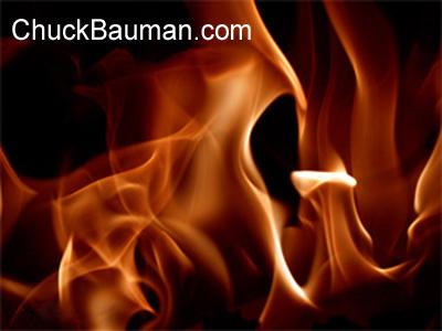 real flames photo shot