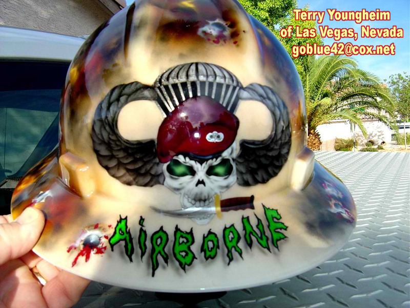 Skull Hard Hats Skull on Front of Hard Hat