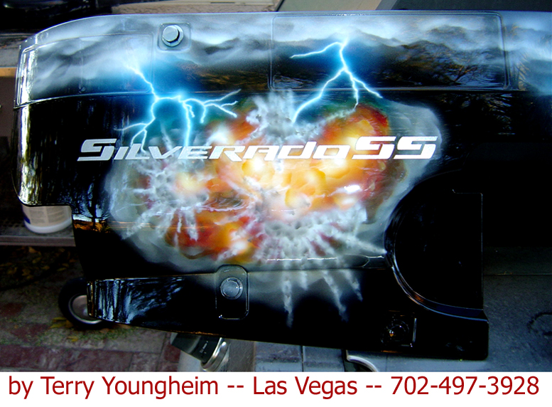 lightning effects airbrushing by Terry Youngheim vspace=4><br>  <img src=