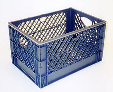 milk crate for airbrushing compressor crate